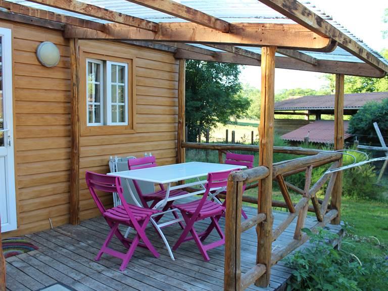 la chevauchée en Creuse bungalows gites camping