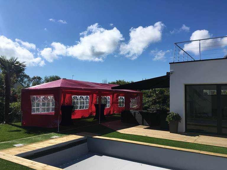 villa charles & ashton chapiteau en option