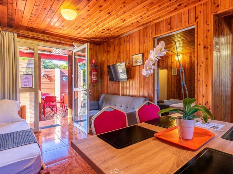 séjour bungalow premium