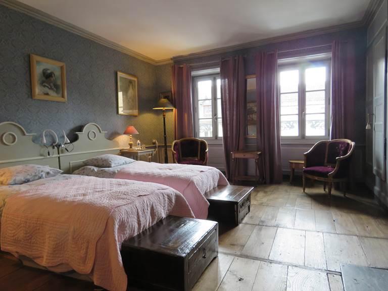 Château de Crocq, chambre Du Montel.
