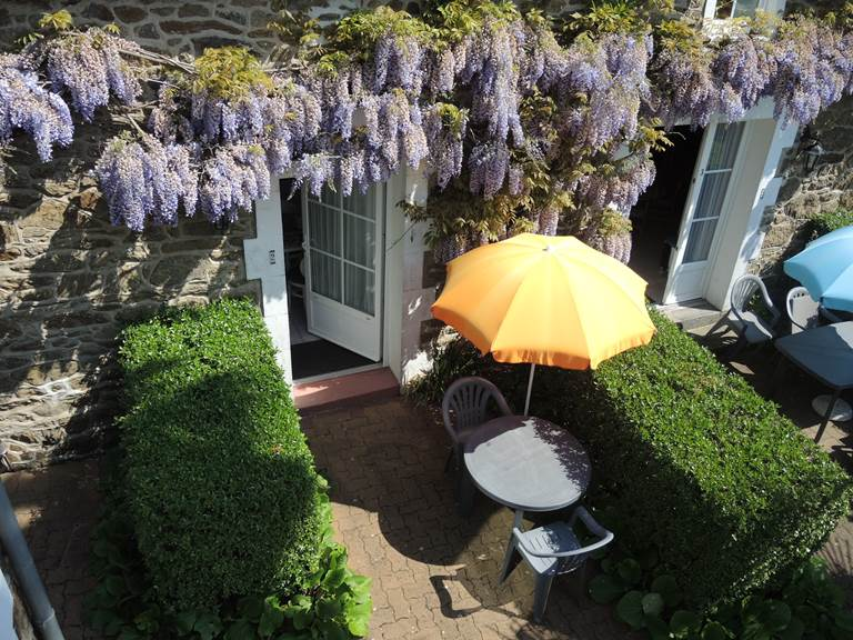 Clos de la Fontaine Dinard, terrasse privée du 2