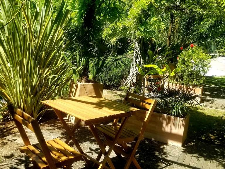 Terrasse chambre Hibiscus