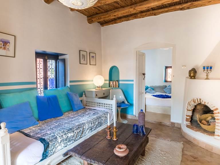 riad Baoussala Essaouira - suite Marabout - salon