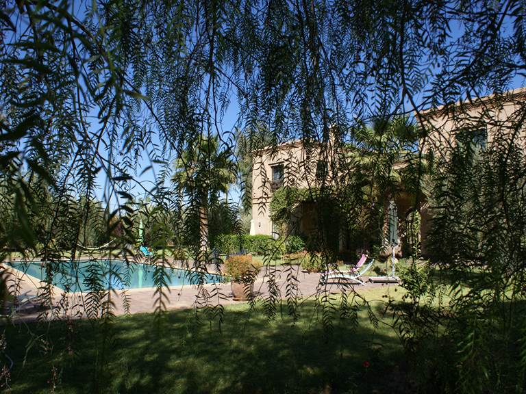 Riad Aâlma d'Or à Marrakech et sa piscine