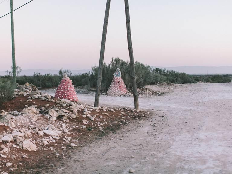 chemin de terre menant à Baoussala