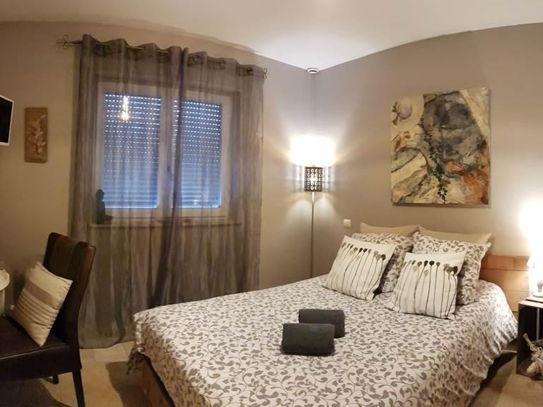 Chambre double la villa esterel 004