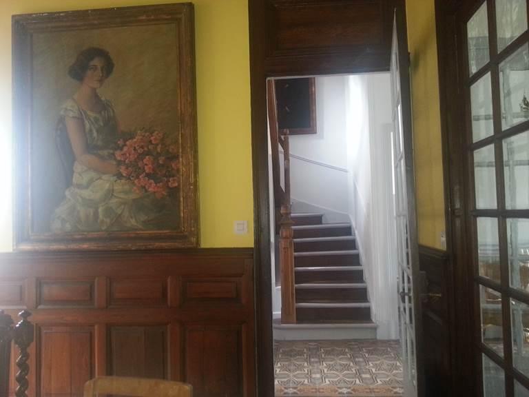 Villa Les Charmilles, Royère de Vassivière, escalier