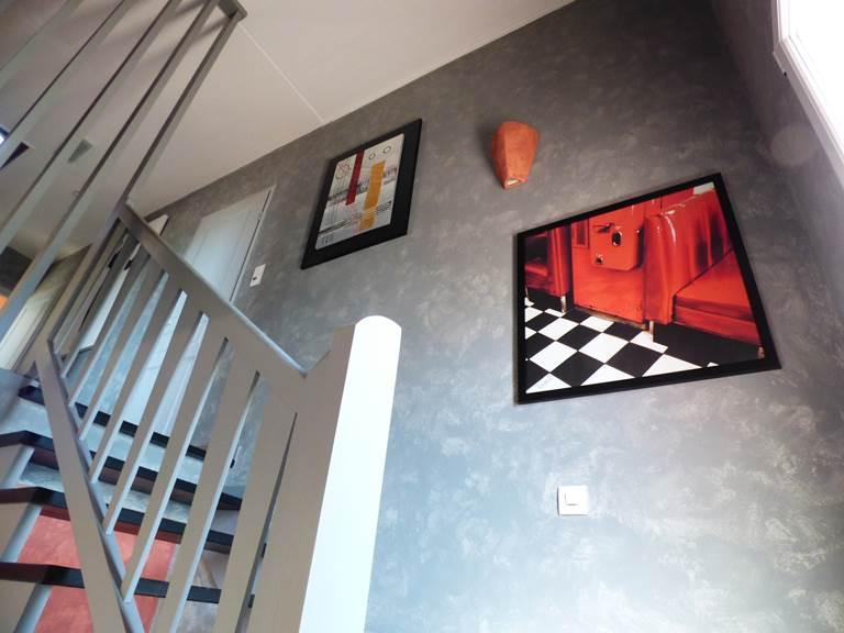 Escalier 2 Chambres d'hôtes La colline aux Yeux Doubs