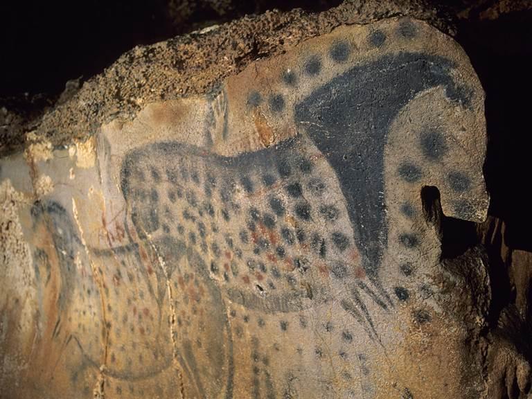 grotte du Pechmerle, Lot, à 35 km de l'Hôtel des Bains
