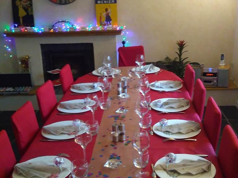 table hôtes la forestière quercy