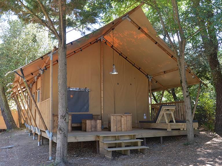 Safari Lodge 6 - Glamping - Camping Les Pins d'Oléron - Ile d'Oléron