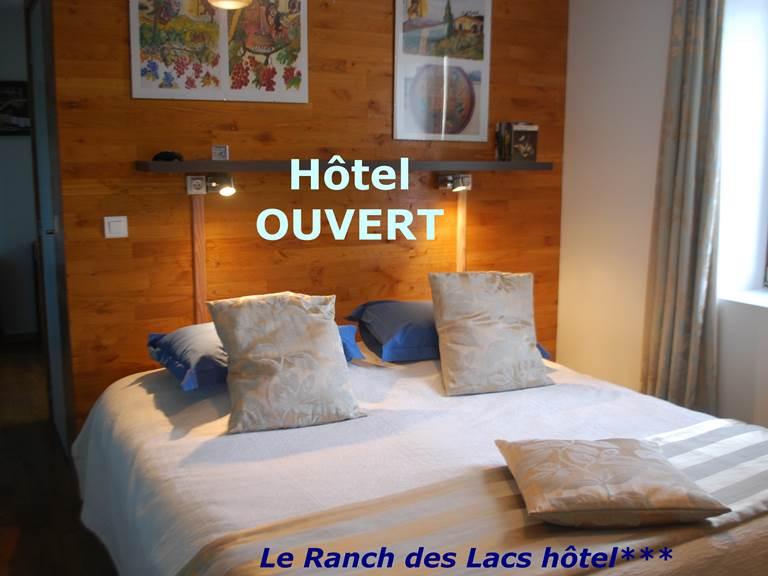 Hotel ouvert professionnel bienvenu chambre Cabanon  87120