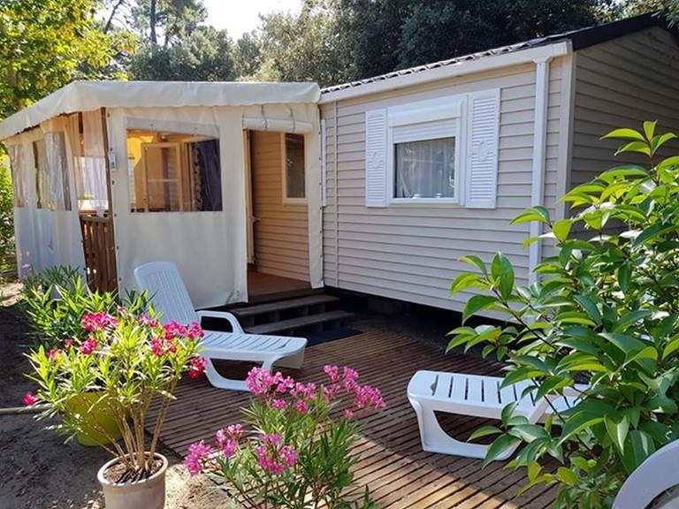 Mobil-Home Homard - Camping Les Pins d'Oléron - Ile d'Oléron