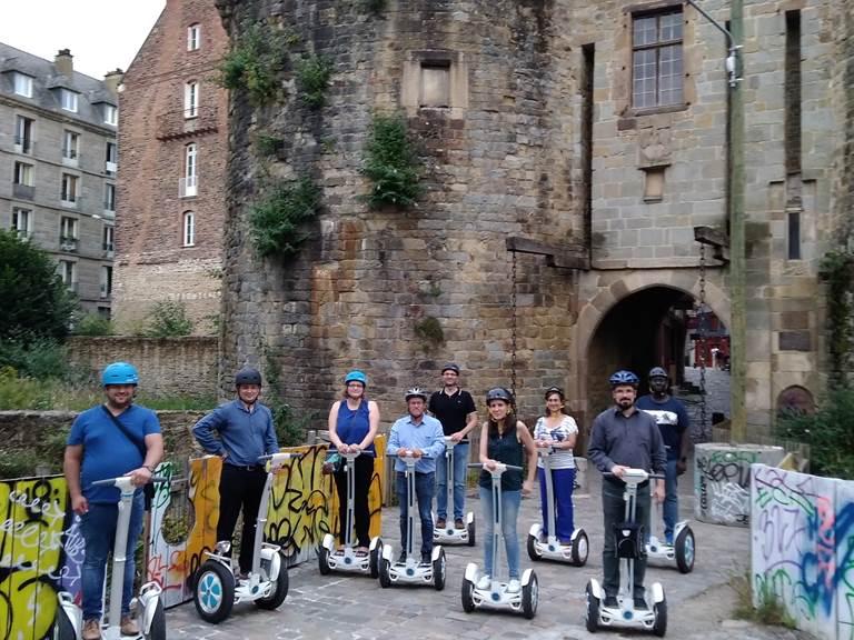 Vieux Rennes , portes Mordelaises, juin 2018