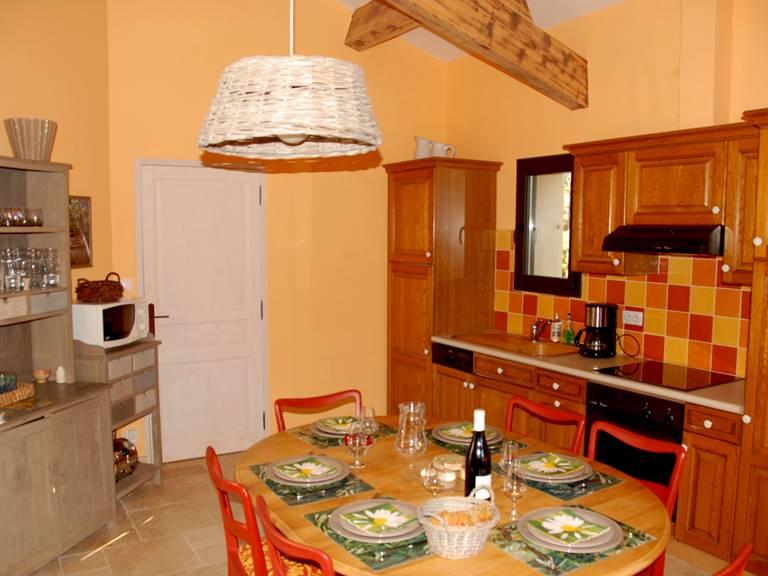 La cuisine + Salle à manger