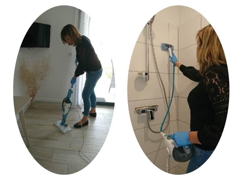 nettoyage vapeur désinfection des surfaces destruction virus coronavirus hygiène propreté