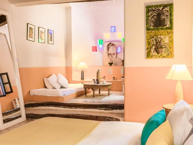 riad-baoussala - Essaouira - chambre Oasis