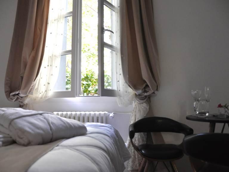 Chambre 3 sur jardin