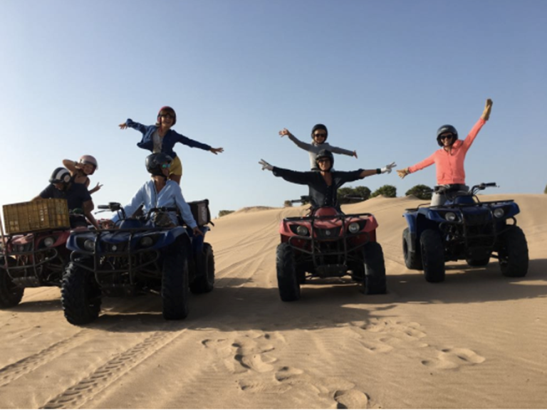 Riad Baoussala - balade à quads  cap sim