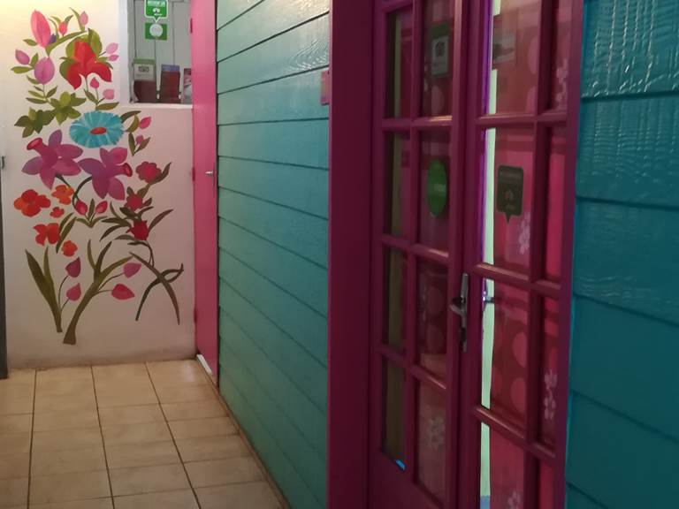 couloir dans l'entrée