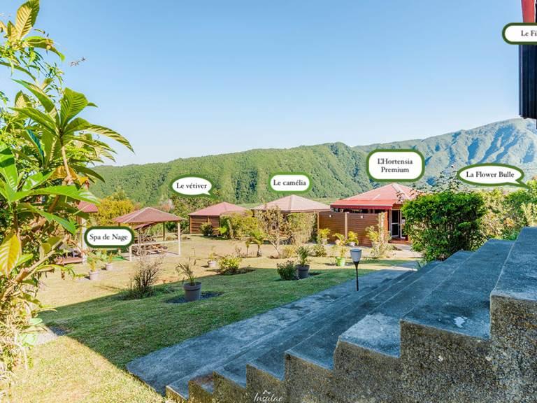 bungalow avec nom