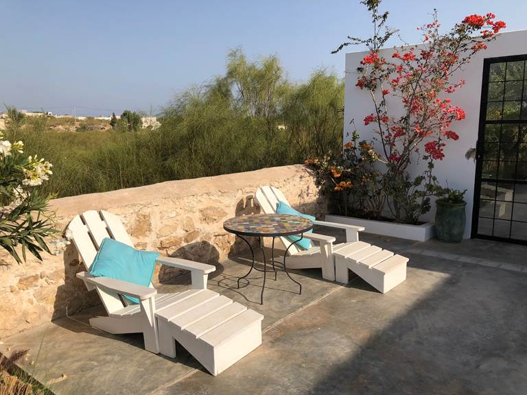 dar Céleste -Essaouira - piscine et transats