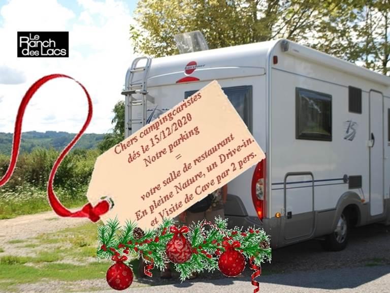 campingcariste-DRIVE-IN au Ranch des Lacs1
