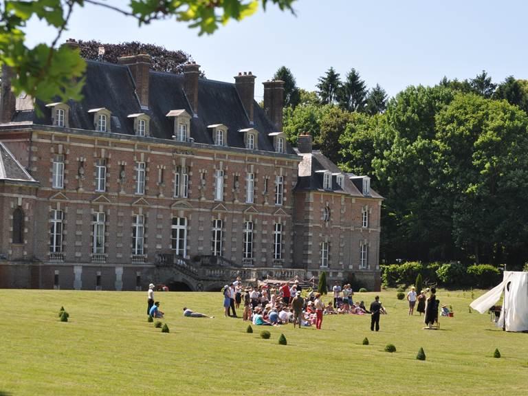 Spectacle au Château d'Auteuil