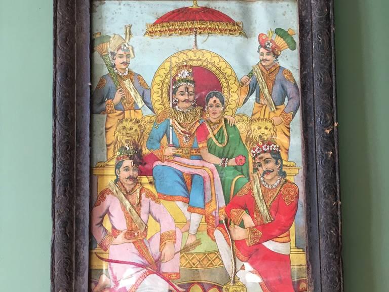 la maharani et ses adorateurs