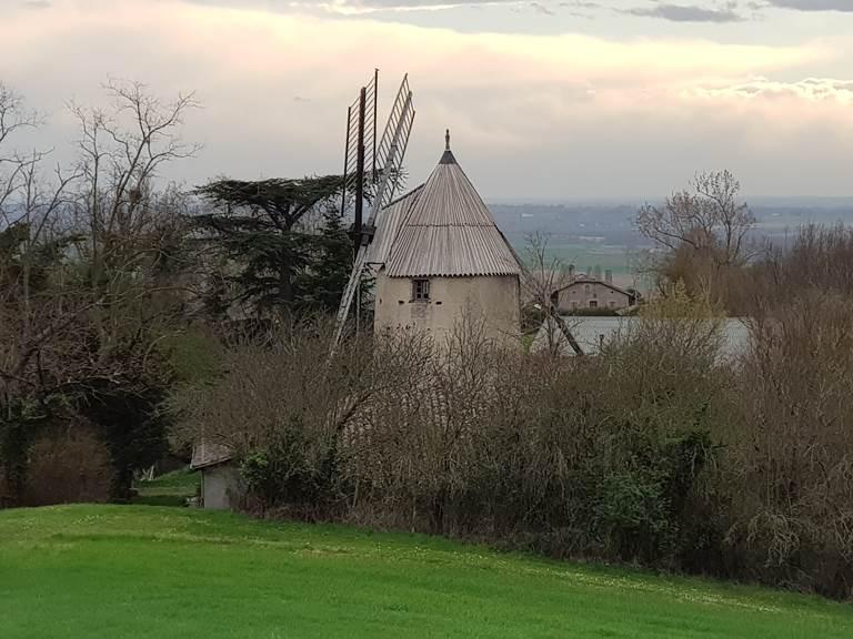 Saint Roch Chambres d'hôtes - Moulin de Brignement vers vallée
