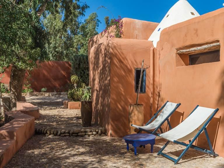 riad Baoussala Essaouira - suite Marabout - terrasse privative