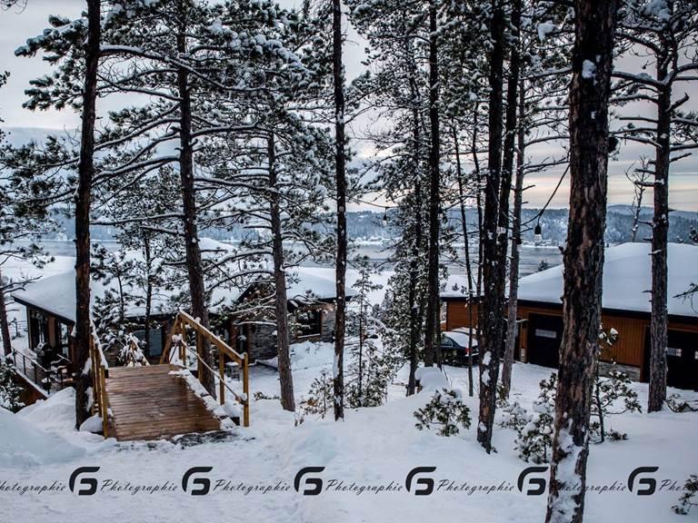 notre décor hivernal