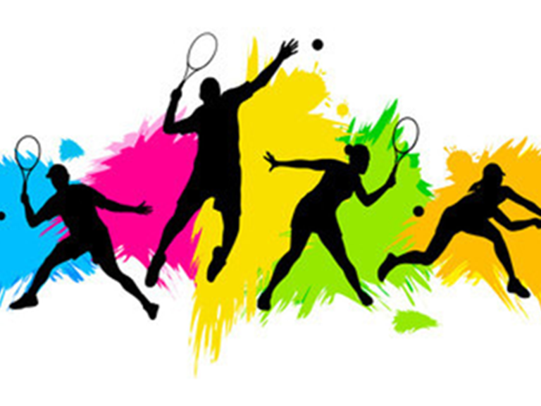group tennis image