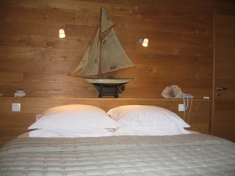 chambre confort vue sur le village