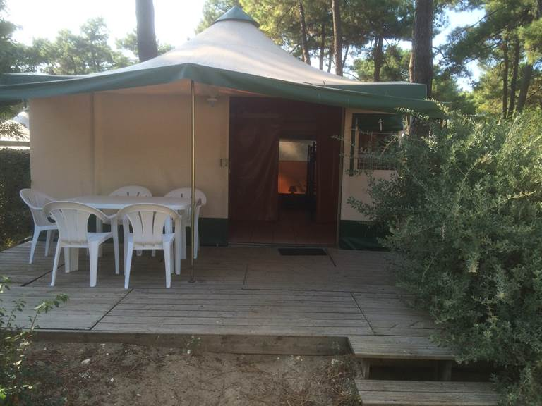 Bungalow Toilé Pagan - Camping Les Pins d'Oléron - Ile d'Oléron