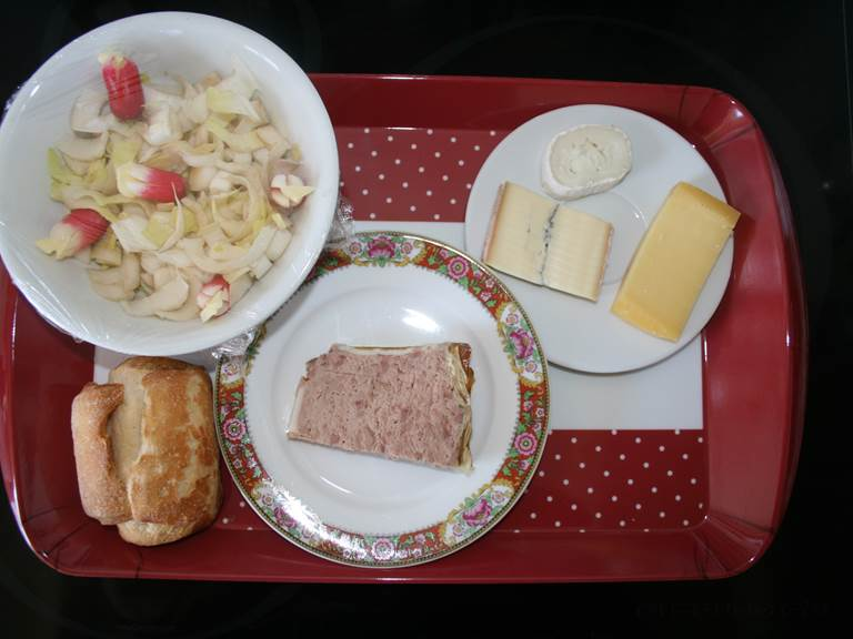 exemple de plateau repas