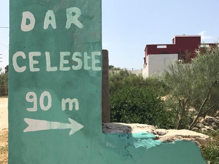 Dar Céleste -Essaouira - entrée de la piste
