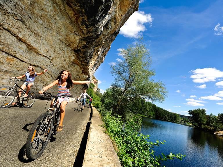 Rando vélo sur les bords de la Dordogne