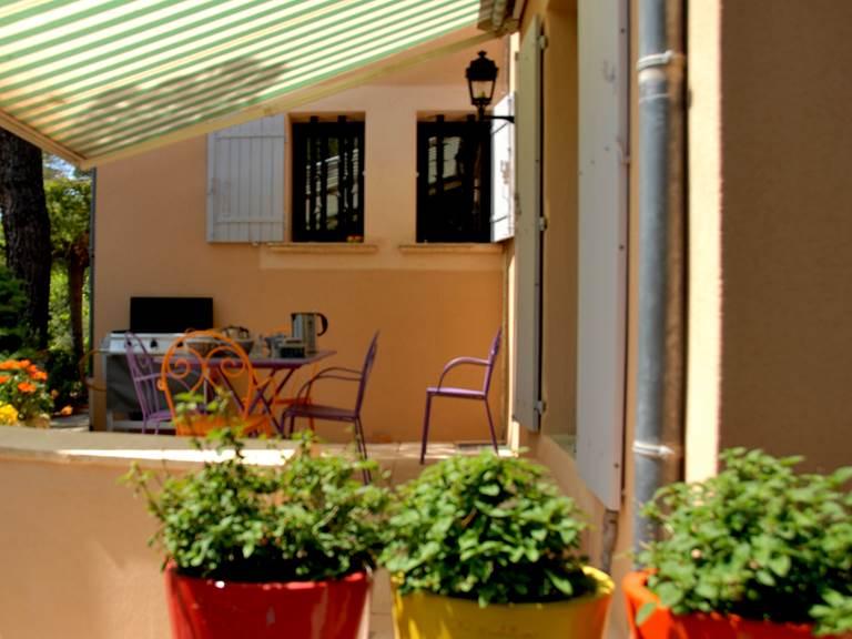 La terrasse où vous pourrez passer de bons moments