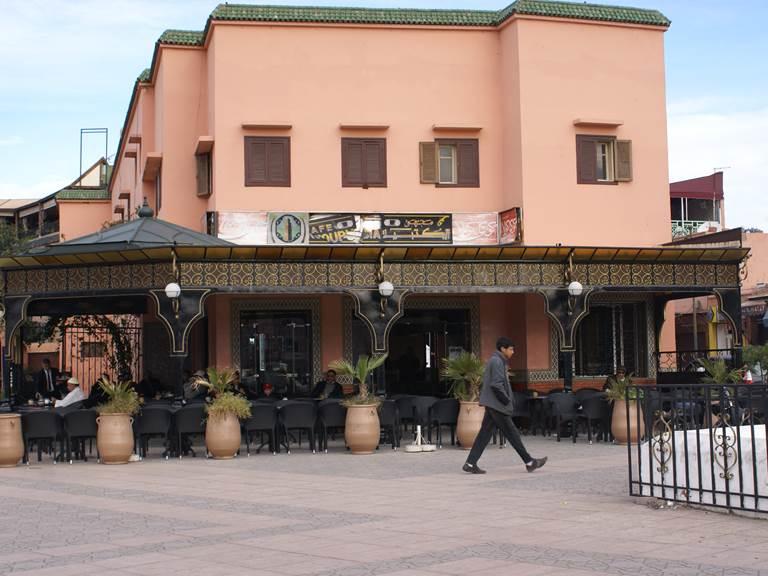 Café à marrakech