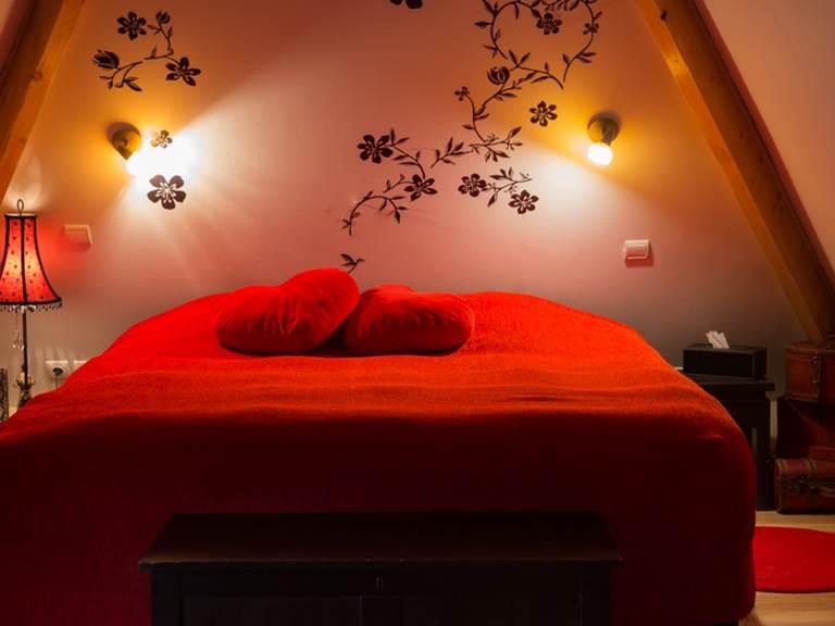 Chambre Duplex romantique