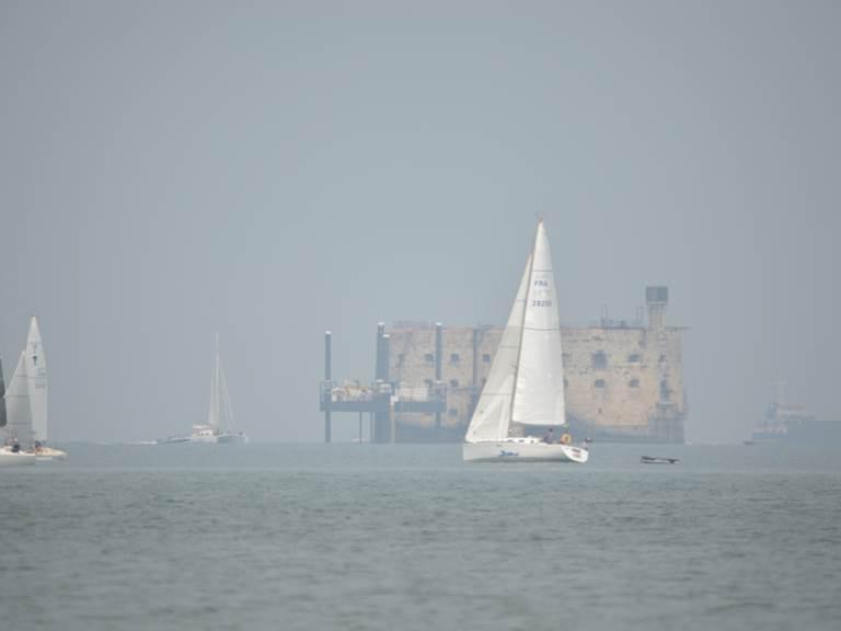 naviguer près du Fort Boyard