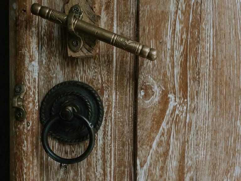 Porte de la Suite Romantique Jardin de Ravintsara