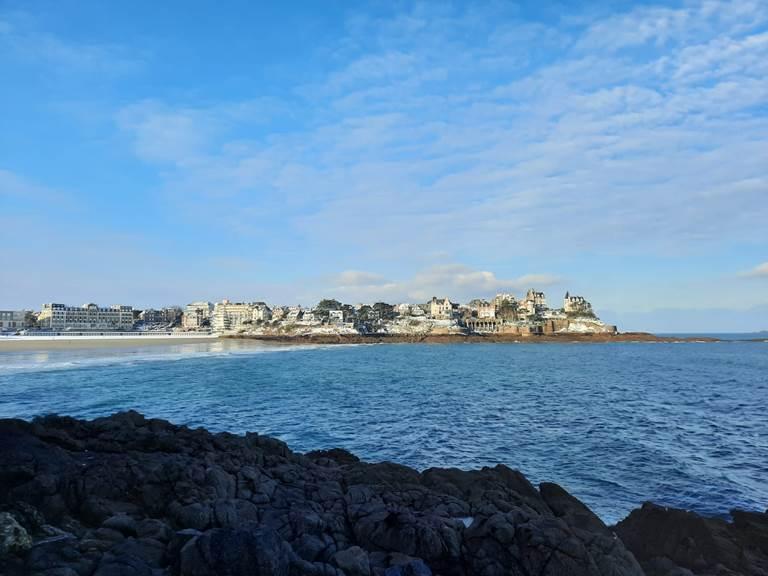 Clos de la Fontaine Dinard, la plage de l'Ecluse (@ A. Poncelet)