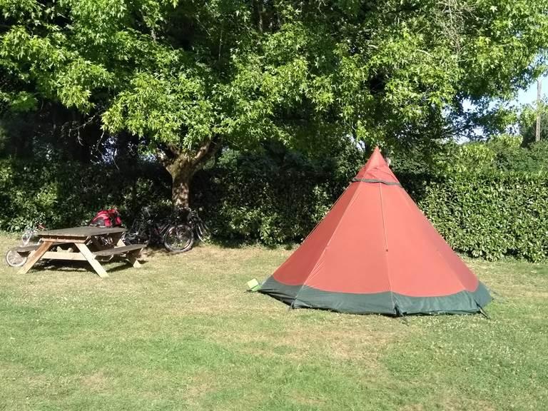 Camping Malestroit - emplacement randonneur