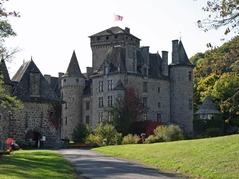 Château de Pesteils à Polminhac