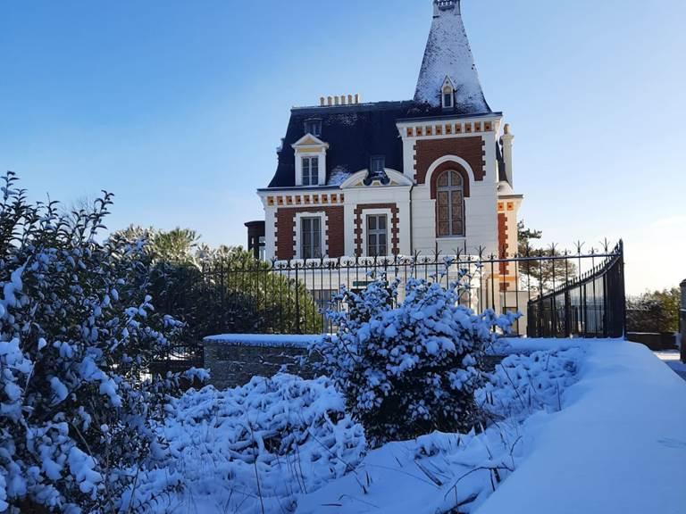 Clos de la Fontaine Dinard, la villa des Roches Brunes (@ A. Poncelet)