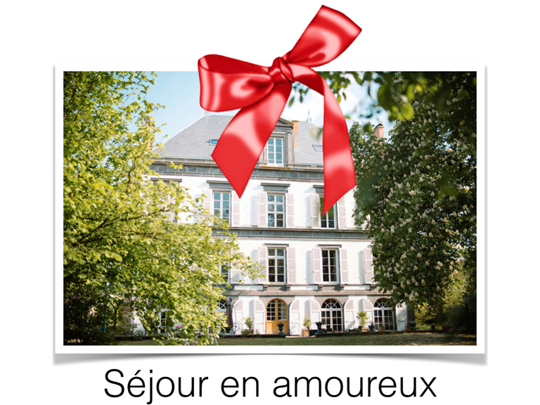 Carte cadeau Séjour romantique expérience unique manoir de la manantie