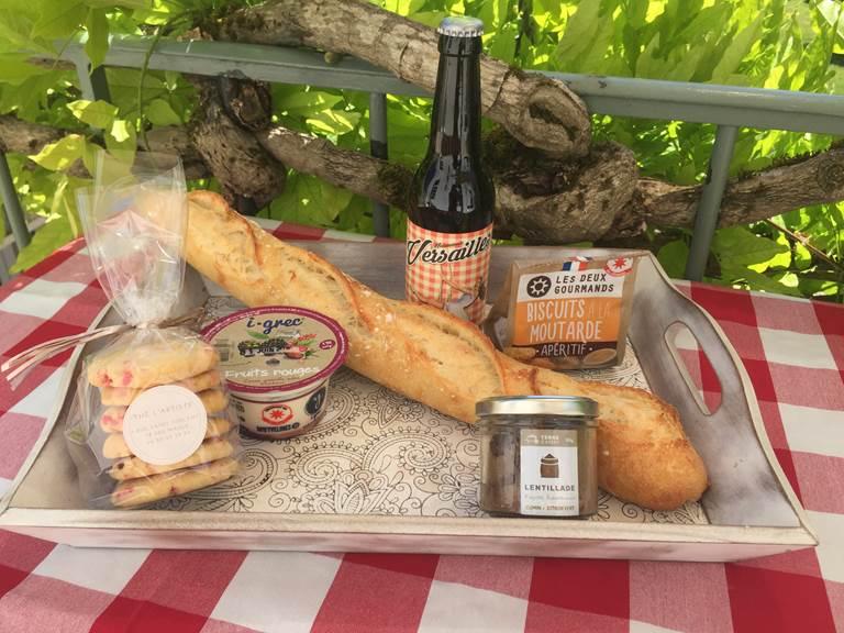 Repas 1 pers produits locaux des Yvelines