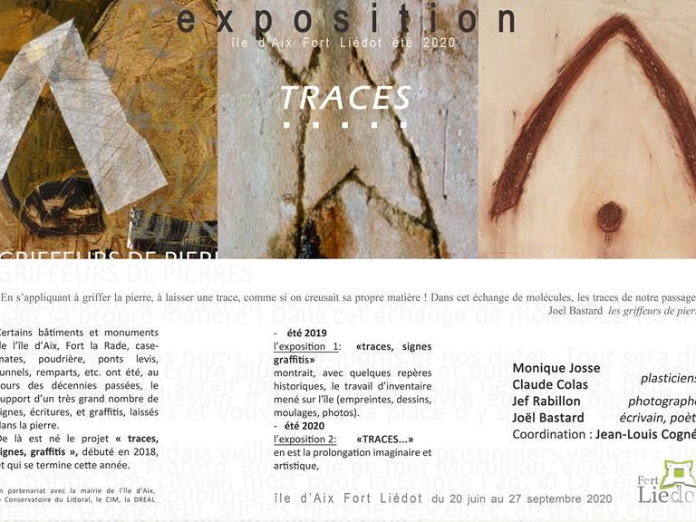 Visuel Exposition Traces